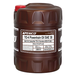 TO-4 Powertrain Oil SAE 30